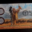 LEWIS & CLARK 2005 P 2005 D Bison Nickels SEALED SET w/ FDC from US MINT