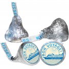 108 Bon Voyage Hershey Kiss Kisses Labels Stickers Summer Travel Ship Cruise
