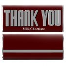 Thank You Gifts 12 Personalized Candy Wrappers for Hershey Bar to say Thanks