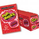 Pop Rocks Popping Candy Packs Original Cherry: 24-Piece Box Free Shipping