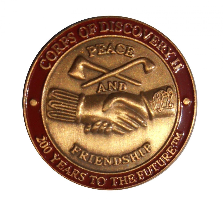 Lewis & Clark Bicentennial 2003 - 2006 Corps of Discovery II NPS Exhibit Pinback