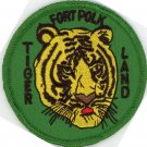 "US Army Military 3"" Iron On Patch School & Training Tiger Land Fort Polk Biker"