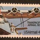 Scott C115 US Air Mail Stamp 1985 44c Transpacific MNH