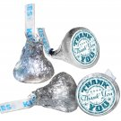 108 Thank You Hershey Kiss Labels Stickers Party Favors, Gift Bags