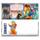 12 Birthday Party Supplies Lego Movie Candy Bar Wrappers Personalized Favors