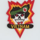 MAC V SOG MACV SOG MACVSOG Special Forces Green Beret Vietnam War Hat Patch 3""