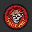 "Vietnam War 3"" Patch Southeast Asia CAMBODIA  VIETNAM  LAOS ""SAT CONG"" Kill VC"