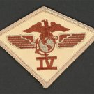 USMC 4th Marine Aircraft Wing PATCH Class-A worthy ! 3rd MAW 3d Air Wing Desert