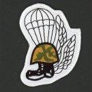 "US MARINES AIRBORNE HAT PATCH USMC PARATROOPER PIN UP JUMPER JUMP PARACHUTE 3"""
