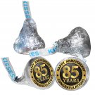 85th Anniversary Hershey Kisses Kiss Labels Stickers for Party Favor 108 Labels