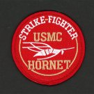 "F/A-18F Super Hornet STRIKE-Fighter USMC 3"" FABRIC Patch US Marines"