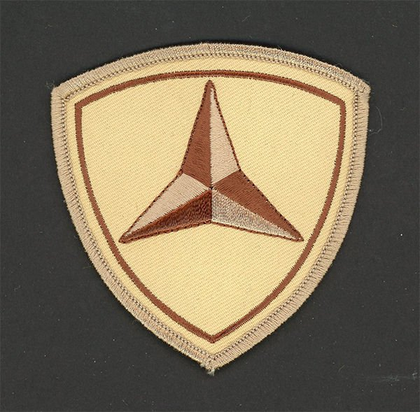 3RD MAR DIV US MARINE DIVISION HAT PATCH OKINAWA DESERT PIN UP MCB MCAS MAF MAB