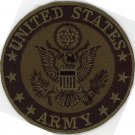 "United States Army Logo Motorcycle Biker Uniform Iron-On Patch 3"" US Military"
