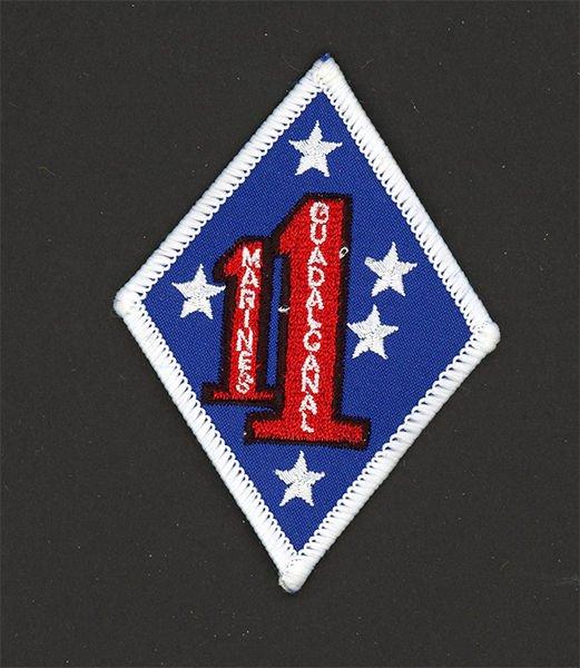 """USMC 1ST BATTALION 1ST MARINES REGIMENT 1ST DIVISION PATCH REPRO NEW 3-1/2"""""""