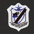 New Blacksheep Squadron VMF-214 Patch Greg Pappy Boyington Robert Conrad USMC