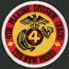 USMC 4th Marine Division (Reinforced) 4th MarDiv(Rein) NEW BREED Marines Reserve