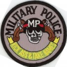 "MILITARY POLICE 3"" PATCH MP KICK ASS & TAKE NAMES ARMY NAVY USMC USAF SOLDIER"