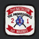 "2ND BATTALION 1ST MARINES USMC MILITARY PATCH Camp Pendleton, California USA 3"""
