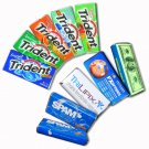 25 Packs of Custom Wrapped package of Trident Chewing Gum