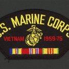 VIETNAM WAR VETERAN 1958 1975 HAT PATCH US NAVY MARINES PIN UP VET GIFT VIETNAM
