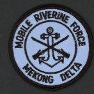"""USN VIETNAM COLOR MOBILE RIVERINE FORCE MEKONG DELTA 3"""" PATCH IRON-ON NAVY VET"""