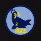 """U.S. Navy Seal Team Two Embroidered Iron-On Patch [3"""" Round] Seal Team 2"""