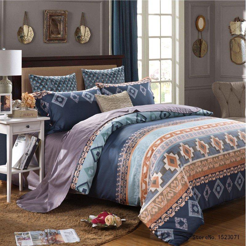 Luxury Egyptian cotton bedding set 5