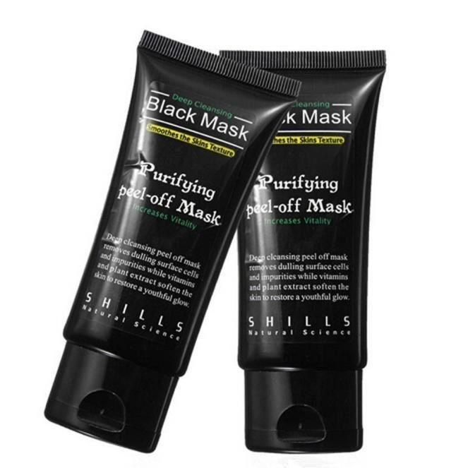 Black Mud Deep Cleansing Purifying Peel Off Facail Face Mask Remove Blackhead Fa