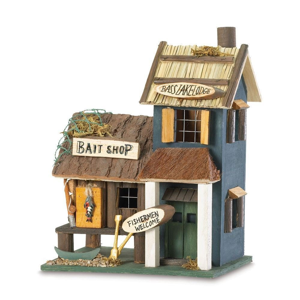Bass Lake Lodge Birdhouse