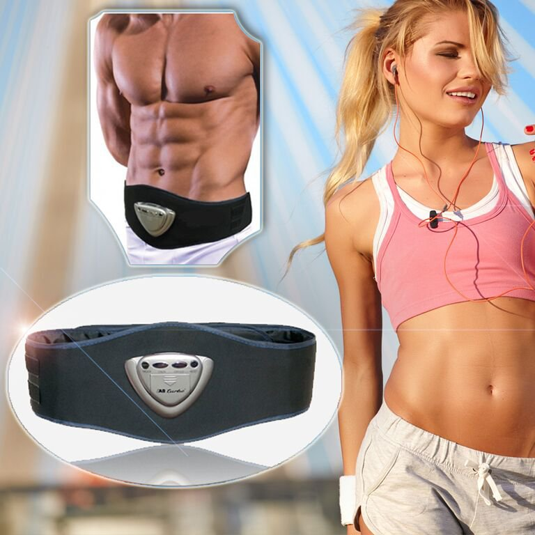 Six Ab-firming Waist Trimmer Exercise Slimming Turbo Belt