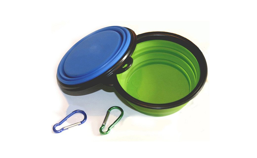 Collapsible Pet Feeding Bowl Easy for Storage and Transportation