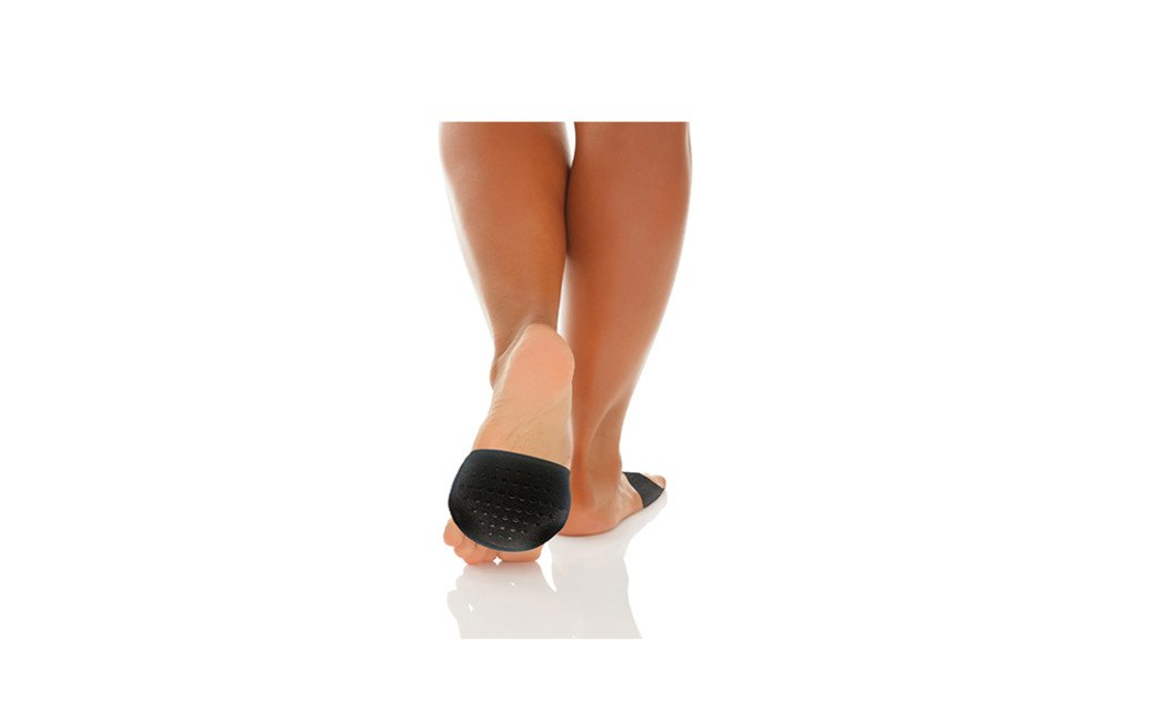 Stretcheable And Breathable Open Toe Foot Care Gel Cushion Socks