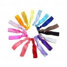 50 Pack Multicolor Elastic Hair Ties Bands