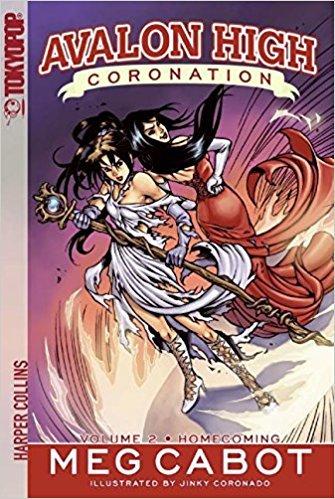 Avalon High Coronation Vol 2 : Homecoming - Paperback Manga by Meg Cabot TokyoPop