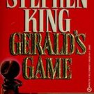 Gerald's Game by Stephen King - USED Mass Market Paperback