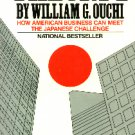 Theory Z by William G. Ouchi - Paperback USED Business Classic