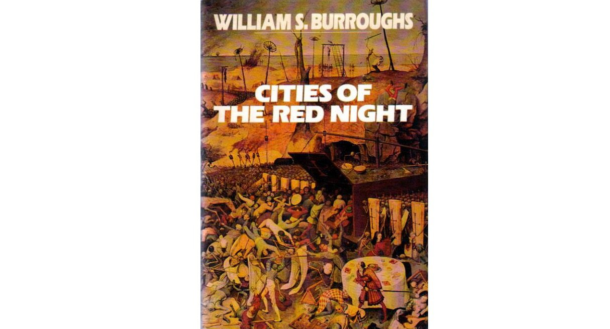 Cities of the Red Night by William S. Burroughs - Hardcover FIRST EDITION