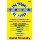 The Theory of Poker by David Sklansky - Paperback Nonfiction