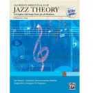Alfred's Essentials of Jazz Theory : A Complete Self Study - Book and Audio CDs