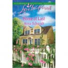 Home at Last by Anna Schmidt - Paperback Inspirational Romance