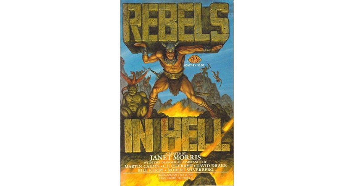 Rebels in Hell by Janet Morris, editor - Paperback USED Mythology