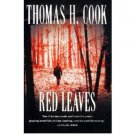 Red Leaves by Thomas H. Cook - Paperback Mystery