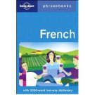 French : Lonely Planet Phrase Book with 2000+ word Dictionary - Fits in Pocket!