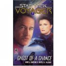 Ghost of a Chance (Star Trek Voyager, Book 7) by Mark Garland - Paperback