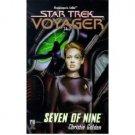 Seven of Nine (Star Trek: Voyager, Book 16) by Christie Golden - Paperback