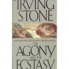 The Agony and the Ecstasy by Irving Stone - Mass Market Paperback Classics