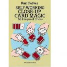 Self-Working Close-Up Card Magic : 56 Tricks by Karl Fulves - Paperback