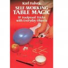 Self-Working Table Magic (Dover Magic Books) by Karl Fulves - Paperback