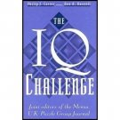 The IQ Challenge - Hardcover IQ Test Brain Teasers Trivia Problems