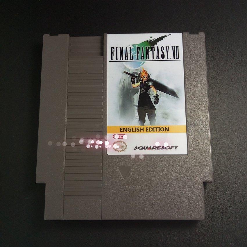 Final Fantasy VII English Edition For NES Final Fantasy 7 PokemonYellow